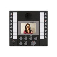 Aiphone, AX-8MV, Audio/Video Master, Black, With Buttons For Up To 8 Masters And 8 Doors / Subs