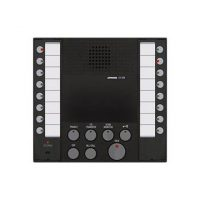 Aiphone, AX-8M, Audio Master, Black, With Buttons For Up To 8 Master Stations And 8 Door Or Sub Stations