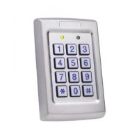 Rosslare, AC-Q41HB Anti-Vandal Backlit Pin Standalone Controller With Heater