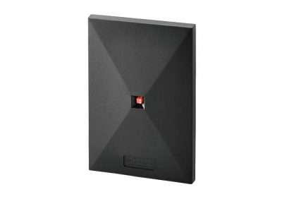 Farpointe Data, P500HA Wall Switch Size Proximity Reader, Beige/Black, HID 125kHZ Supported