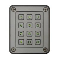 Presco, PSE-IL Outdoor Semi-Flush Mount Keypad