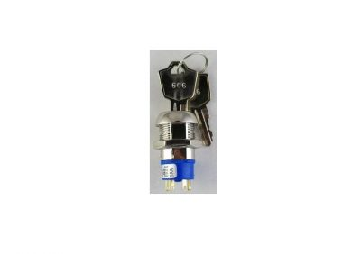 Alpha 2 Position Key Switch C/O Contacts Keyed Different