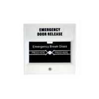 DWS100W White Glass Break Switch DPDT