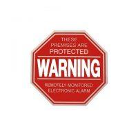 Large Hexagon Warning Sign