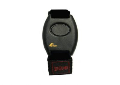 Crow, 1 Ch Wristwatch Transmitter (Black Velcro Band)