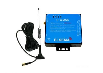 Elsema, G-2025, GSM Gate Opener (4G Compatible)