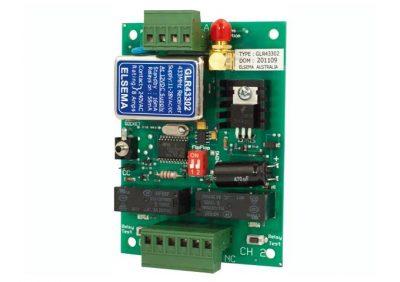 Elsema, GLR43302, 2 Channel Gigalink® Series 433MHz Receiver