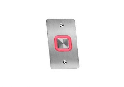 "Rosslare, EX7E0 Switch Plate IP65, Illuminated Piezo Rex, ""EXIT"" Button"