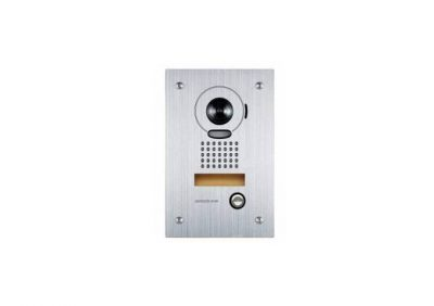 Aiphone, JP-DVF, Video Door Station, Vandal Resistant Flush Mount Stainless Steel