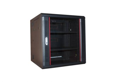 PSS, ZH-6612W, 12RU Double Section Wall Mounted Cabinet