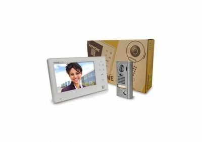 Aiphone, JOS-1V Entry Security Intercom Box Set With Vandal Resistant, Surface-Mount Door Station