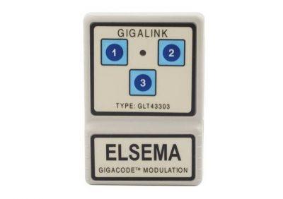 Elsema, GLT43303, Gigalink 3 Channel Transmitter 433MHz (CLON)
