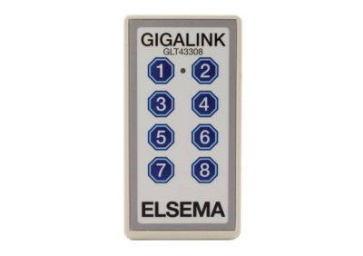 Elsema, GLT43308, Gigalink 8 Channel Transmitter 433MHz