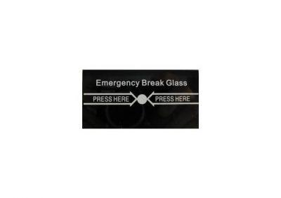 Guardall, CP21 Replacement Break Glass (5Pk)