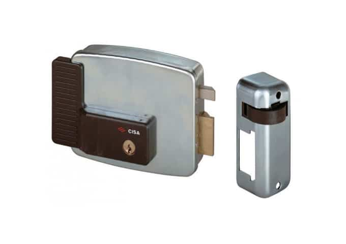 CISA, 11921-60/3, Electric Gate Lock, Hinged on Right Side