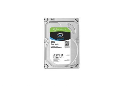 Seagate, 3TB, 7200RPM/64MB Surveillance SATA HDD For Digital Recorders