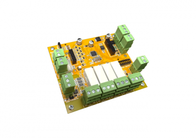 Crow, R864EX-O4, 4 Output Expander, SX Relay Output Module (PCB Only)