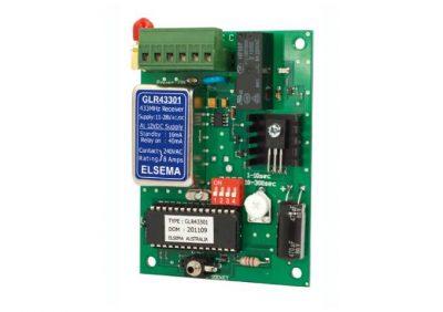Elsema, GLR43301, 1 Channel Gigalink® Series 433MHz Receiver