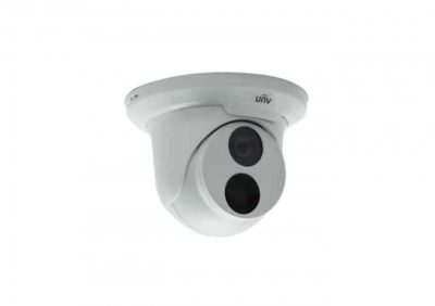UNV, IPC3612SR3DPF28M 2MP Turrets, IP Camera Smart-IR 2MP Vandal IR Dome, 2.8mm Lens, H.265 Format