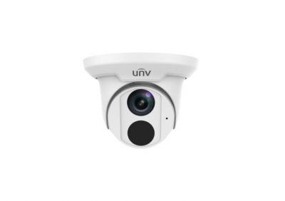 UNV, IPC3615ADUPF40M, Turret 5MP IP67 IR 4mm Starlight - White
