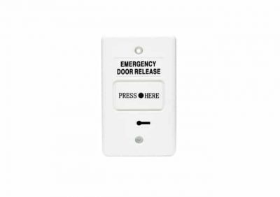 DWS250B, Secor Resettable Emergency Door Release, Dual SPDT, Buzzer And LED - Green
