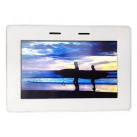 "Crow, 5"" Touch Keypad In White For Runner"
