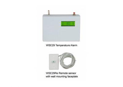 DFM, WSE29, Temperange Dual Temperature Alarm