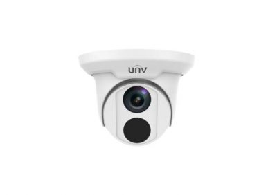 UNV, IPC3618SR3DPF28M, 8MP IP67 IR 2.8mm Turret Camera - White