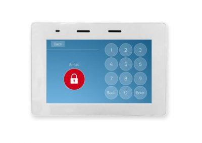 "Crow, KP-Touch Screen Keypads WHITE, 5"" Full Colour display for Runner Panels"