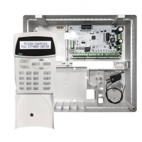 AAP Kit, Kit includes: ESL-2 16 zone control panel, Icon LCD vertical keypad with time & temperature, ESL MET cabinet with temper switch.