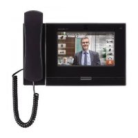 "Aiphone, IX-MV7-HB, 7"" Black Video Master Station With Handset And Colour Display"