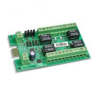 Crow, 4 x Relay Output Module (PCB Only), For Runner & P/W 8/16 Panels