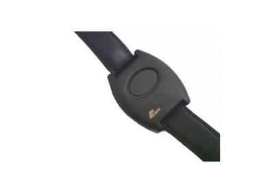 Crow, CAWW01SW, Wristwatch Transmitter 1 Ch White Steel Band