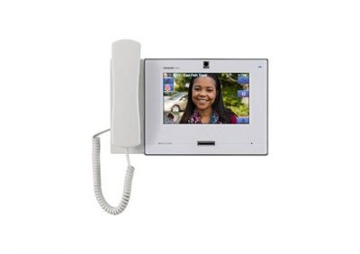 """Aiphone, IX-MV7-HW, 7"""" White Video Master Station With Handset And Colour Display"""