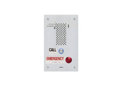 Aiphone, IX-SSA-2RA, EMERGENCY Audio Door Station and Emergency Button