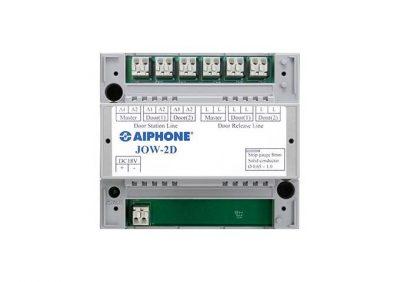 Aiphone, JOW-2D, Two Door Adaptor For JO Series