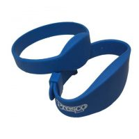 NIDAC, NC-PRX-WRISTBAND-RW, Waterproof Rubber Proxkey Wrist Band - Read Write