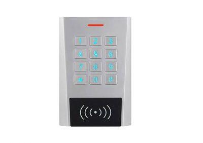 Secukey, XK3-D, Dual Relay, Standalone Backlit Pin & Card, Metal