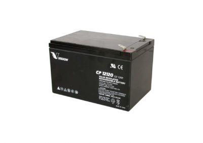 CP12120, 12V 12AH Battery
