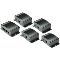 IPC-7414-Kit IP Over Coax Balun, 4-Channel Master Unit+ 4 IPC7100