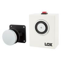 LOX, R40-12 Wall Mount Magnetic Door Holder 12V