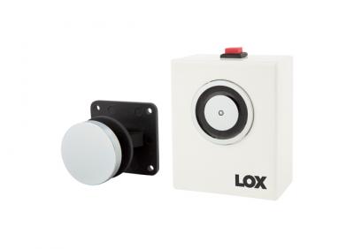 LOX, R40-12 Wall Mount Magnetic Door Holder 12V