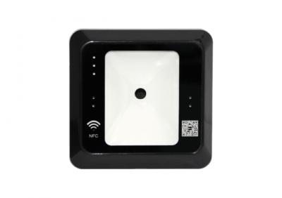 ZKTeco, QR500-B RFID & QR Code Reader - Black