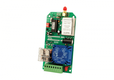 Elsema, GLR43302240, 2 Channel Gigalink® Series 433MHz Receiver, Relay Out RX 40V Supply & Relay