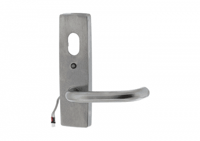 Assa Abloy, 1821/70SC External Handle With Cylinder Hole And LED, Fixed Lever