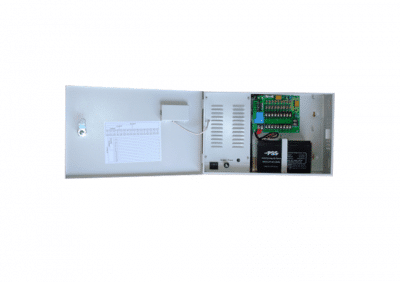 PSS, WB-DC12-8A, 13.5vDC 8 Amp Power Supply In Cabinet