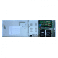 PSS, WB-DC12-12A, 13.5vDC 12 Amp Power Supply In Cabinet