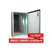 PSS, GB1033, 300W x 300H x 210 IP66 Steel Enclosure