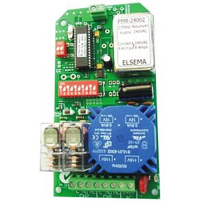 Elsema, FMR24002,  2 Channel Receiver Card, relay output, 240v mains power